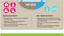 Green Electricity and Upstream Sustainability