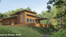 High Performance House near Parry Sound