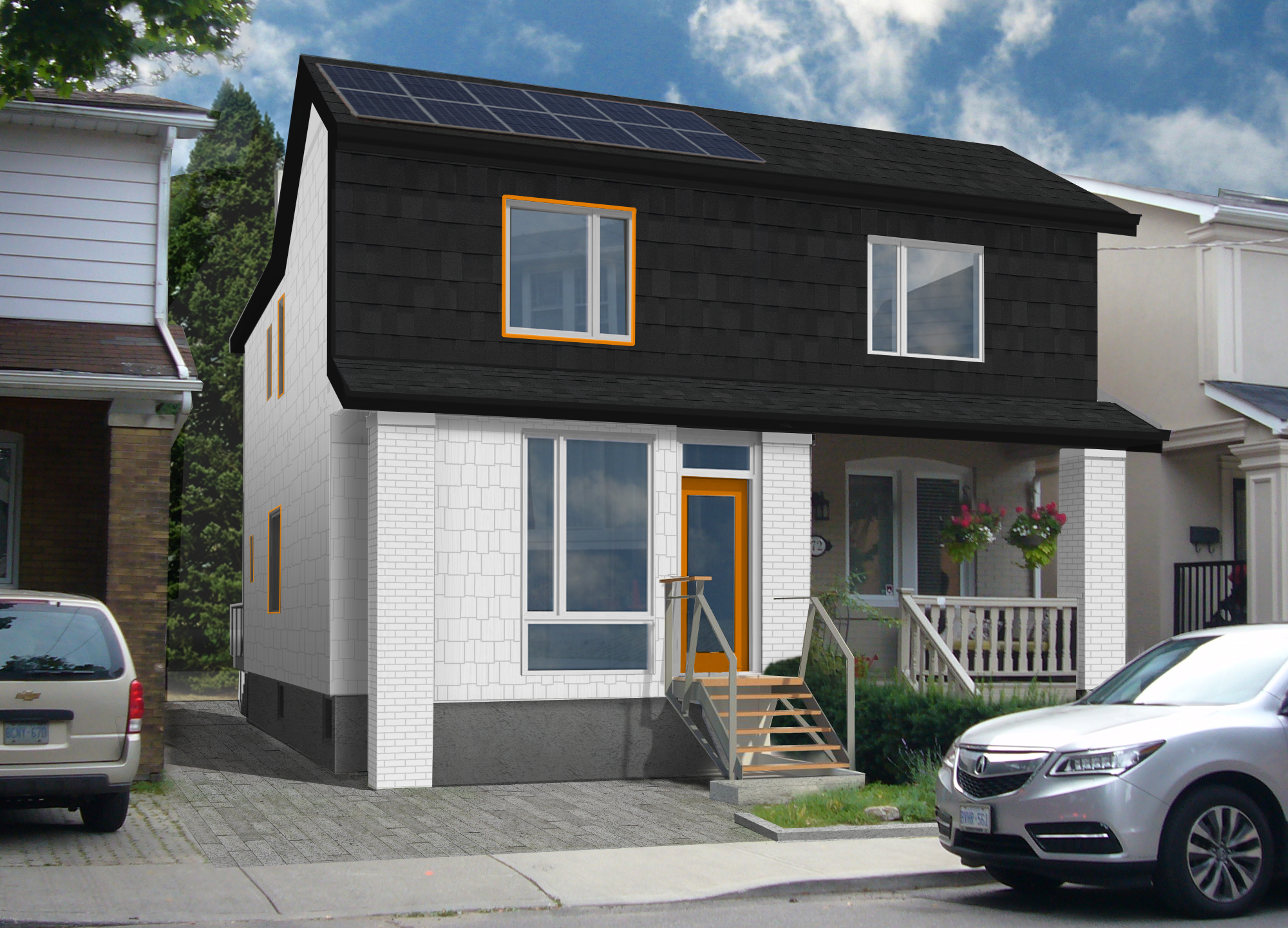 Net-zero Upgrade to Toronto Semi-Detached House | Coolearth ...