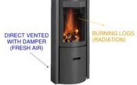 Wood Burning Stove with Thermal Mass and Update Pictures