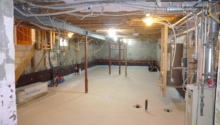 High Park Reno: Underpinning Completed